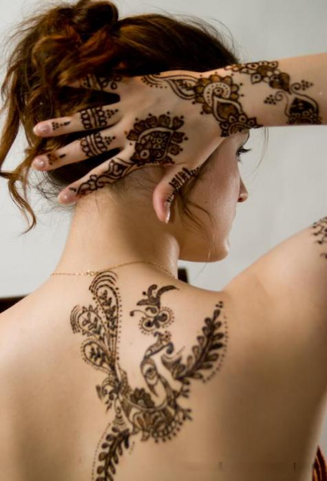 Henna Tattoo Designs For Girl