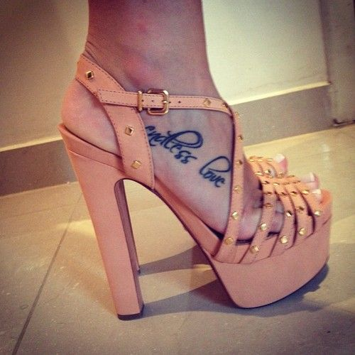 Girls Foot Tattoos