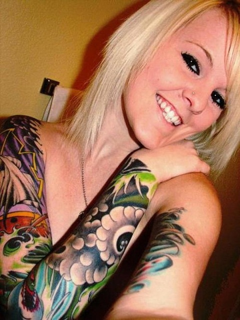 Cool Sleeve Tattoos For Women