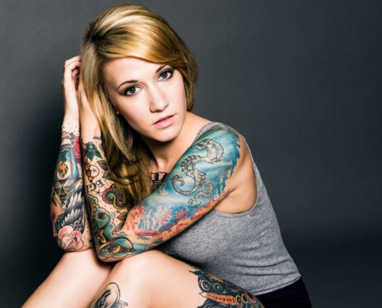 Half Sleeve Tattoos For Female