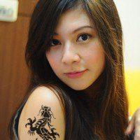 Dragon Tattoo Desing